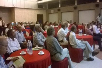 Members attending the AGM on 5th July 2014