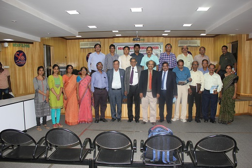 IIChE Bhubaneswar Regional Center members with Padmashri Prof. G. D. Yadav and Mr. D. P. Misra